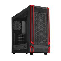 SilverStone Redline series SST-RL05BR-W  Black/Red Window, ATX Case