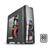 Thermaltake Black Versa N25 Mid Tower Chassis & 600w 80Plus PSU