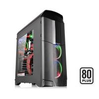 Thermaltake Black Versa N26 Mid Tower Chassis & 600w 80Plus PSU