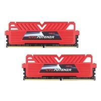 GeIL 16GB Kit (2x8GB) GPR416GB2400C16DC C16 2400MHz - Red