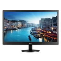AOC E2470SWH 23.6 Inch VGA/DVI LCD Monitor - Black