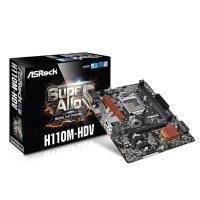 ASRock H110M-HDV LGA1151 Micro-ATX Motherboard