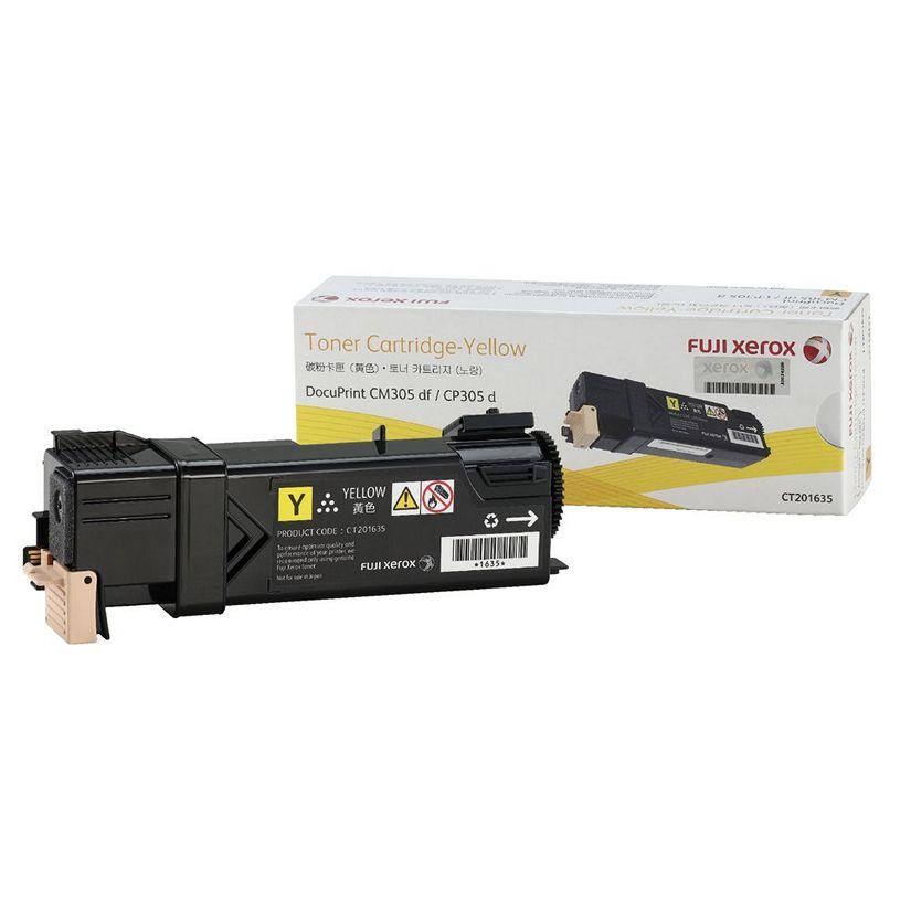 FUJI-XEROX CT201635 YellowToner for DPCP305D/DPCM305DF