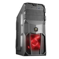Cougar MX200-STE500 Gaming Case w 500W PSU Red Led FAN