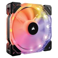 Corsair HD Series HD120 RGB Individually Addressable LED 3-Pack Static Pressure Fan with Controller