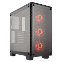 Corsair Crystal Series 460X RGB Tempered Glass, Compact ATX Mid-Tower Case