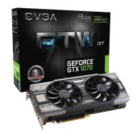 EVGA GeForce GTX 1070 FTW DT Gaming ACX 3.0 8GB Video Card