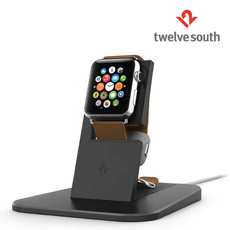 twelve south apple watch  Twelve South HiRise for Apple Watch Charging Stand Black - Umart.