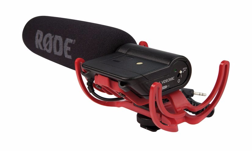 Rode VideoMic R Directional On-Camera Microphone