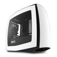 NZXT Manta Mini ITX Case Matte White Gaming Case