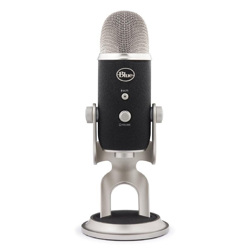 Blue Microphones Yeti Pro USB Microphone - Silver