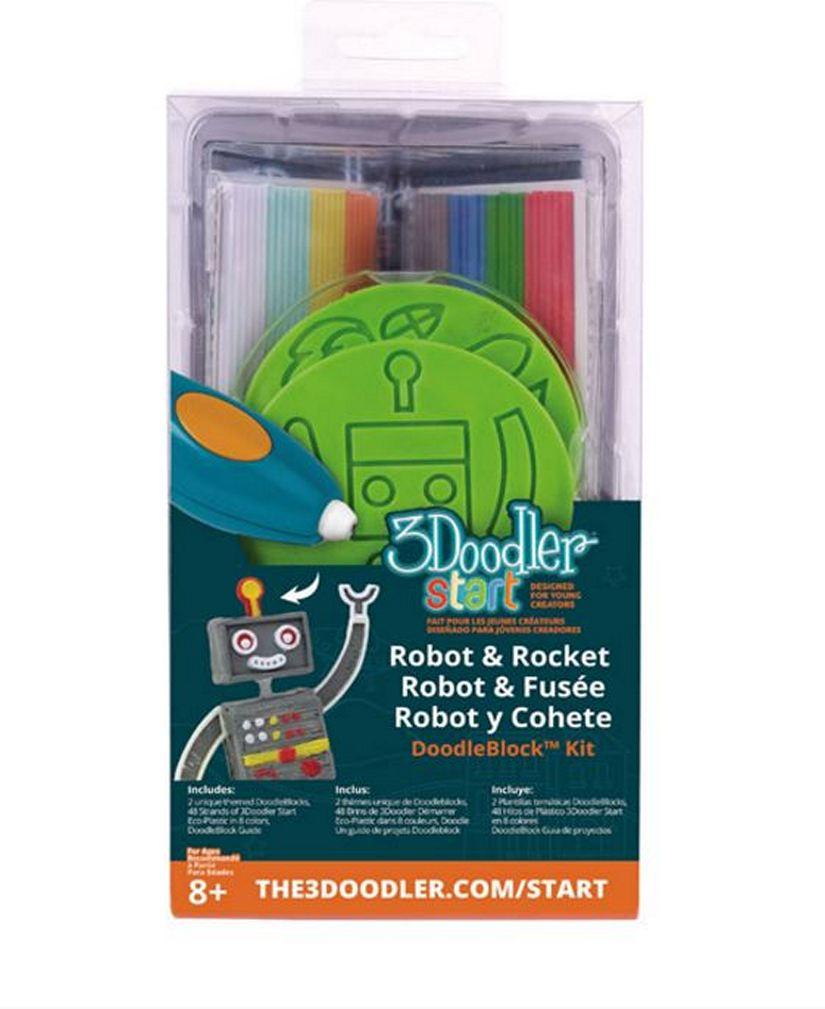 3Doodler Block Kit RocketRobot
