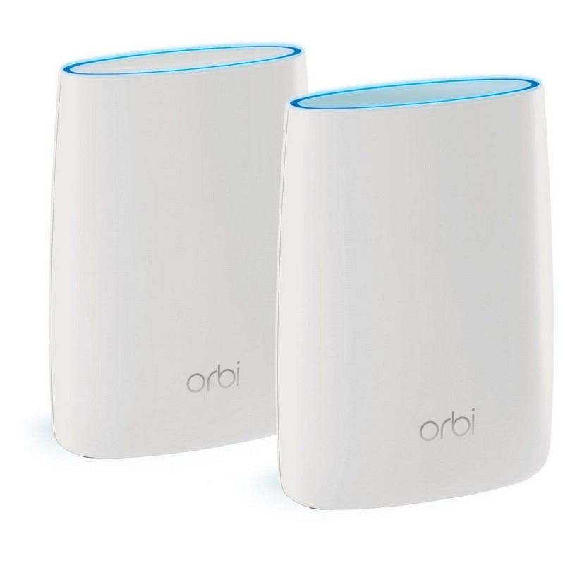 Netgear RBK50-100AUS Orbi High-performance AC3000 Tri-band WiFi System (Router & Satellite)