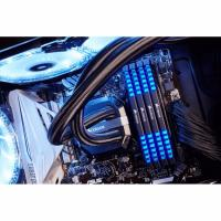Corsair Vengeance LED 32GB (4x8GB) DDR4 3000MHz Unbuffered 15-17-17-35 1.35V XMP 2.0 Blue LED