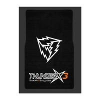 ThunderX3 Gaming Floor Mat 100x150cm, 350gsm Nylon+ 900gsm TPR