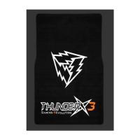 ThunderX3 Gaming Floor Mat 100x50cm, 350gsm Nylon + 900gsm TPR