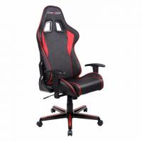 DXRacer FL08 Series Gaming Chair, Sparco Style, Neck/Lumbar Support - Black & Red