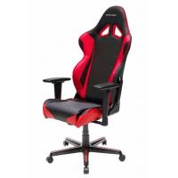 DXRacer RZ0 Series Gaming Chair, Neck/Lumbar Support - Black & Red