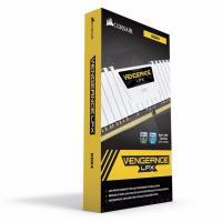 Corsair 32GB (2 x 16GB) CMK32GX4M2B3000C15W DDR4 3000MHz Vengeance LPX White