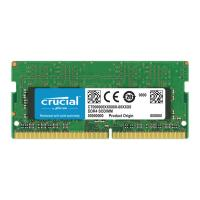 Crucial 16GB Kit (8GBx2) DDR4 2400 MT/s (PC4-19200) CL17 SR x8 Unbuffered SODIMM 260pin Single Ranke