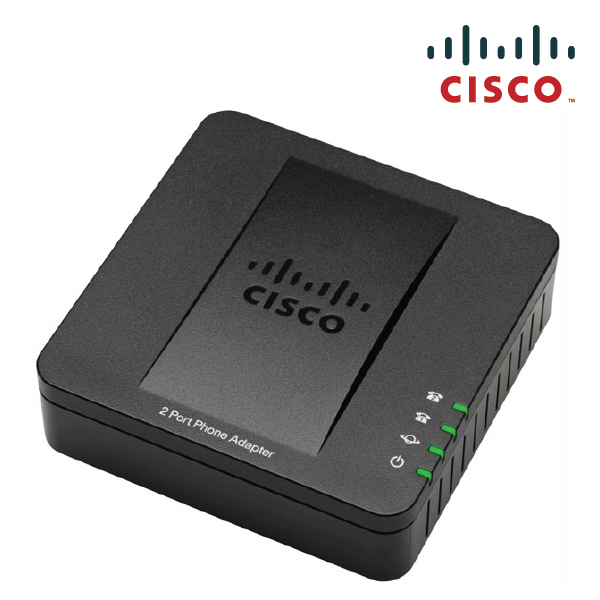 Cisco SPA112 2 Port Phone Adapter (VoIP)