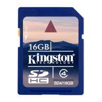 Secure Digital Card 16Gb(SD) SDHC Class4 Kingston