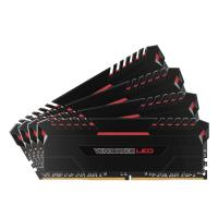 Corsair 64GB (4x16GB) CMU64GX4M4C3200C16R DDR4 3200MHz Red LED
