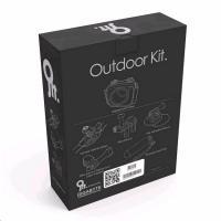JOLT OUTDOOR Kit (Waterproof Case Adapter w/ On-Water Floating Hand Grip, Bike & Helmet Strap Mount)