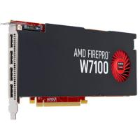 AMD PCIE FirePro W7100, 8GB DDR5, 4H (4xDP), Single Slot, 1xFan, ATX