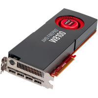 AMD PCIE FirePro W8100, 8GB DDR5, 4H (4xDP), Dual Slot, 1xFan, ATX