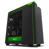 NZXT H440(2015) Mid Tower Case - Green/Black