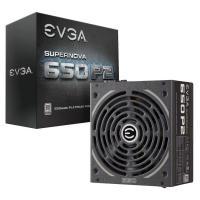 EVGA 220-P2-0650-X4 (Full-Modular), 650W, 80+ Platinum 94%, SuperNOVA P2, 140mm Fan, 4xPCIE, Single