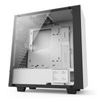 NZXT S340 Elite Matte White ATX Case, No PSU