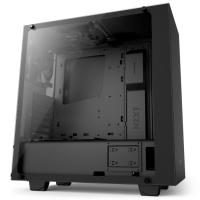 NZXT S340 Elite Matte Black ATX Case, Side Window, No PSU