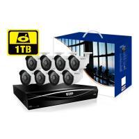 KGUARD HD1681 16-CH Hybrid DVR -1080P/720P/960H/ Onvif IP cam support & 8 x WA713A with 1TB HDD