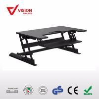 VisionMount LD02 Height Adjustable Sitting /Standing Desktop Black up to 15Kg