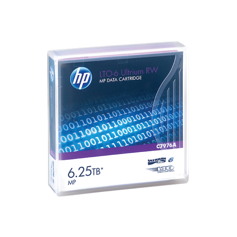 HPE C7976A HP LTO6 Ultrium 2.5TB/6.25TB** RW Data Cartridge