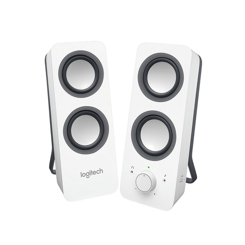 a21fff4c74d Logitech Z200 Multimedia 2.0 Speakers Snow White - Umart.com.au