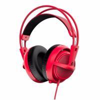 SteelSeries 51135 Siberia 200 Full Size Multipurpose Gaming Headset - Red