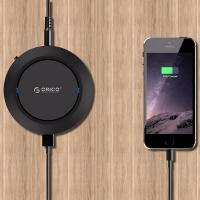 Orico Black 5 Port Powered USB Charging Station With QI Wireless Charger Function (PL)