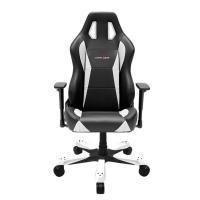 DXRacer WX0 Series Gaming Chair, Neck/Lumbar Support - Black & White
