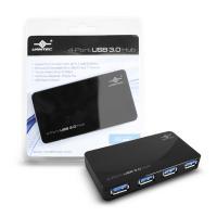 Vantec 4 SuperSpeed USB 3.0 Ports Hub(Black)