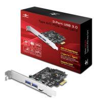 Vantec 3-Port USB 3.0 Type A/C PCIe Host Card