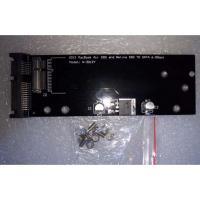 AD-SATA-160 17+7 Pin SSD to SATA III 22 Pin Convertor Adapter for Macbook