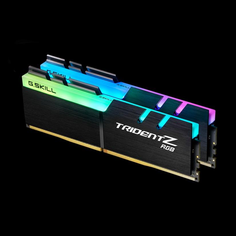G Skill 32GB (2x 16GB) F4-3600C17D-32GTZR DDR4 3600Mhz Trident Z RGB