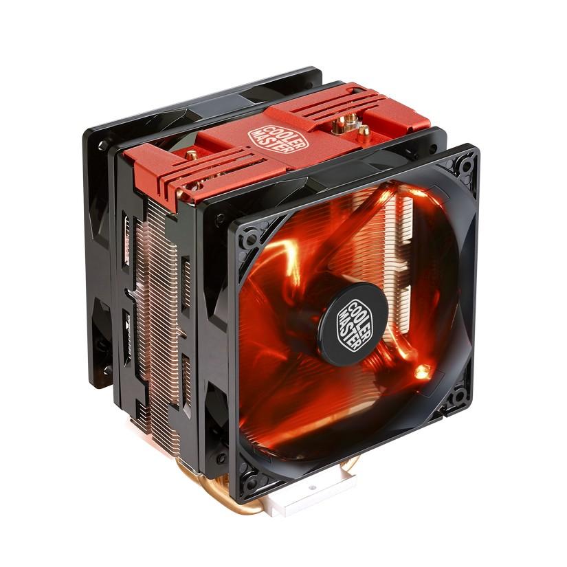 Cooler Master Hyper 212 LED Turbo CPU Cooler - Red Cover