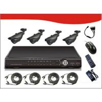 "Signageit KT42-VT20S42 4CH Combo Kits incl 4*1/3""Sony 3.6mm ICX633BK CCD 420TV Line PAL:625(h)x582("