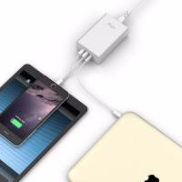 Flujo Multi-Function USB-C Smart Charger Silver