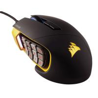 Corsair Gaming Scimitar PRO RGB Gaming Mouse Yellow