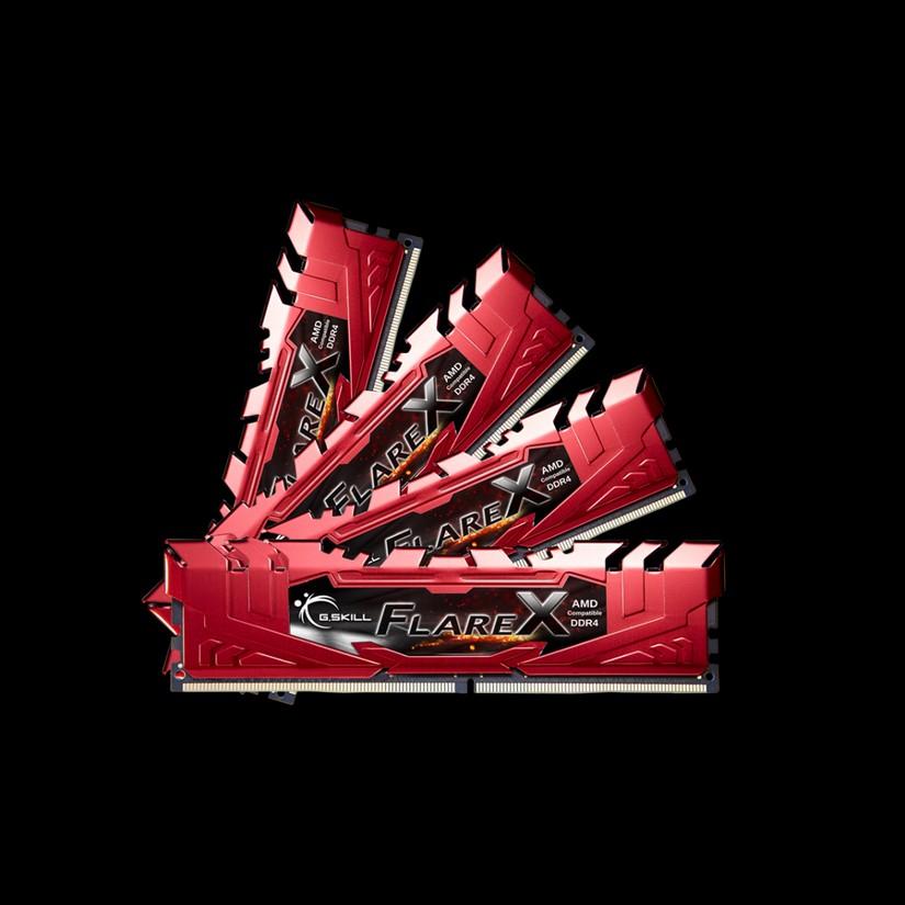 G.Skill 32G(4x8G)F4-2400C16Q-32GFXR DDR4 2400 MHZ 1.2V